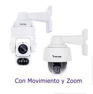 C�maras Vivotek IP con Movimiento y Zoom